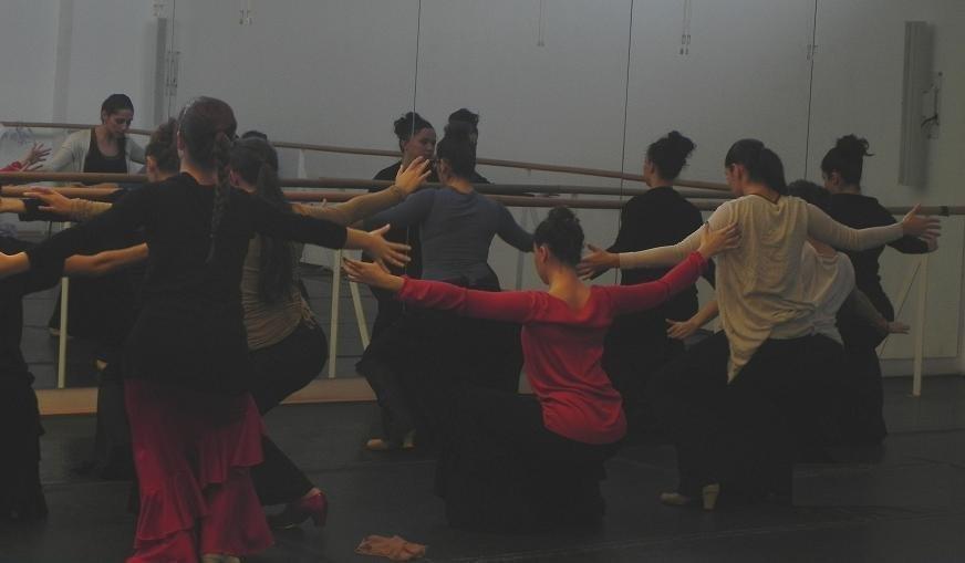 Master Class por María Carrasco.
