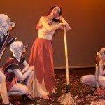 María Carrasco y su espectáculo, La Cenicienta