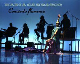 María Carrasco y su espectáculo, Concierto Flamenco