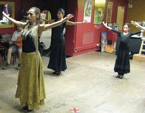 Centro de estudio y ensayos especializado en Flamenco y Danza Española