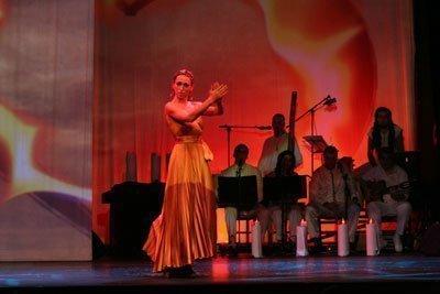 María Carrasco y su espectáculo, Flamenco libre