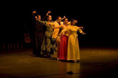 María Carrasco y su espectáculo flamenco, Al compás de Lorca