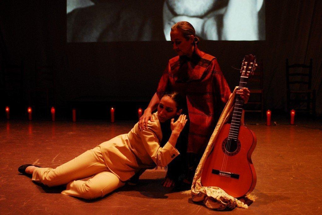 María Carrasco y su espectáculo flamenco, Bailando a García Lorca
