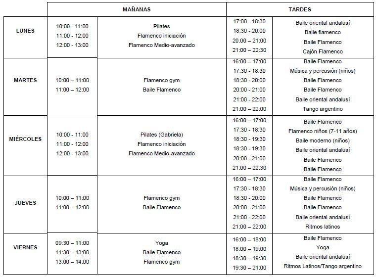 horarios semanales 2017-18